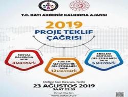 BAKA Mali Destek Programı 2019 Yılı Projeleri - Son Başvuru Tarihi 23 Ağustos 2019